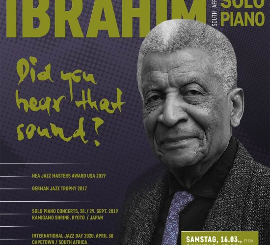 Abdullah Ibrahim Poster